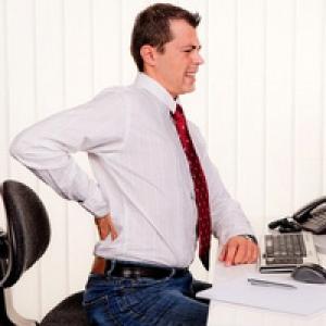 остеохондроз - болезнь офисного работника